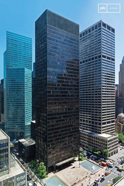 Edificio Seagram, Nueva York, de Mies Van der Rohe