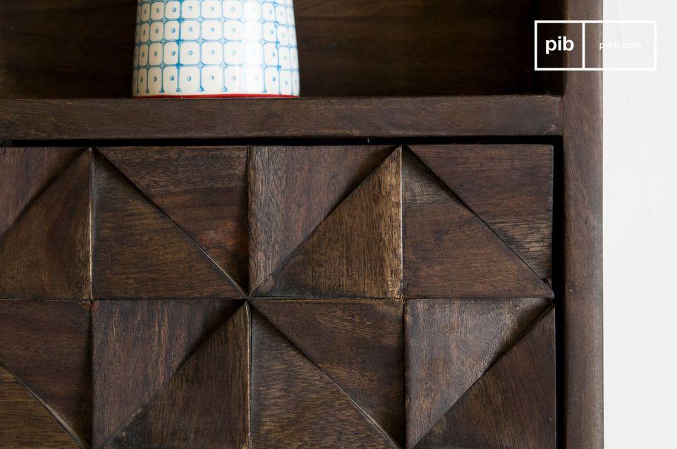 El armario de pared Balkis es estéticamente agradable y práctico