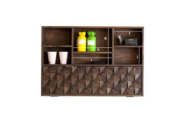 Dimensiones del producto El armario de pared Balkis