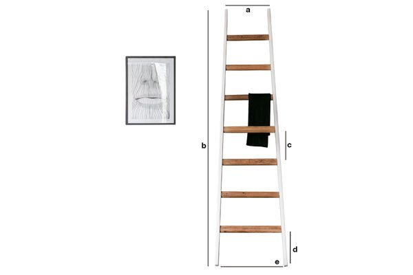 Dimensiones del producto Escalera decorativa  Välli