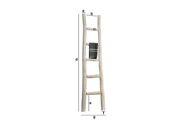 Dimensiones del producto Escalera toallero