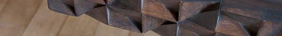 Descriptivo Materiales  Escritorio de madera Balkis