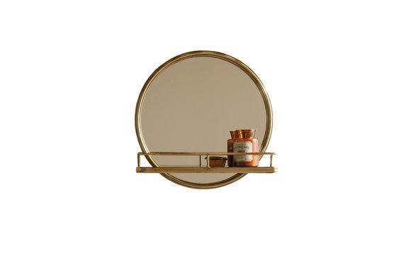 Espejo Clémentine con estantería Clipped