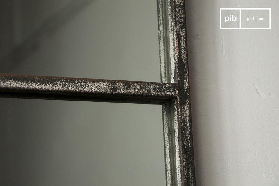 Espejo cuadrado de 9 paneles - 4