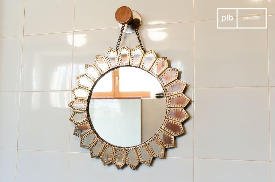 Espejo de latón Aurinko