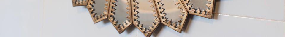 Descriptivo Materiales  Espejo de latón Aurinko