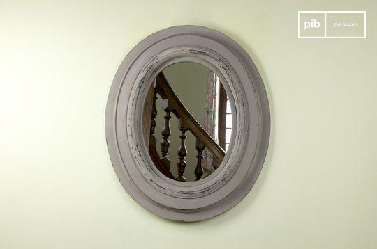 Espejo de madera Napoleón