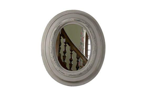 Espejo de madera Napoleón Clipped