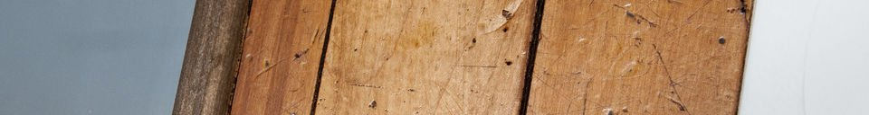 Descriptivo Materiales  Espejo de madera Sheffield