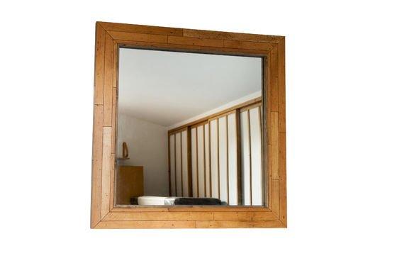 Espejo de madera Sheffield Clipped