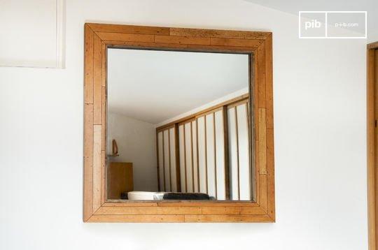 Espejo de madera Sheffield