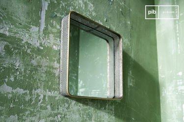 Espejo de metal Olonne