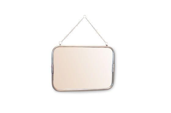 Espejo de pared con cadena Gabin Clipped