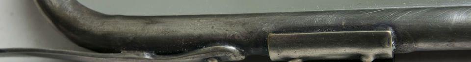 Descriptivo Materiales  Espejo de pared con solapas