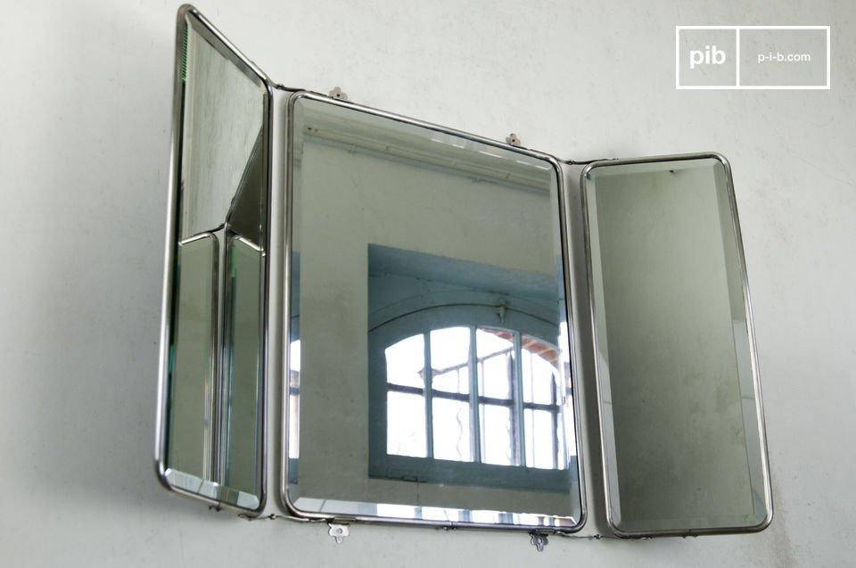 Espejo de pared estilo tríptico