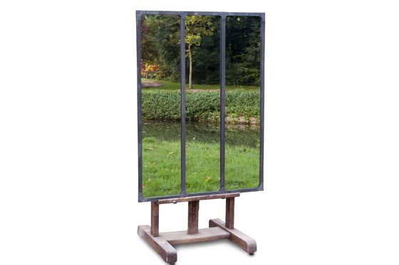 Espejo de taller con marco metálico Clipped