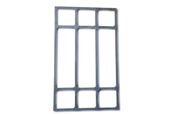 Espejo de taller XXL con estructura de metal Clipped