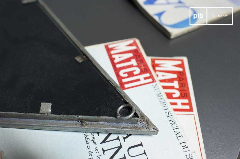 El espejo Diagone es un accesorio con todo el estilo industrial vintage