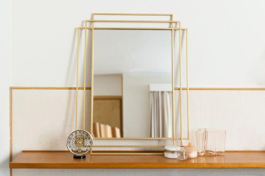 Espejo dorado Alma