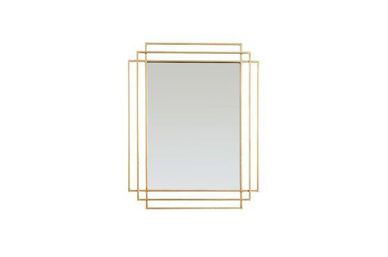 Espejo dorado Alma Clipped