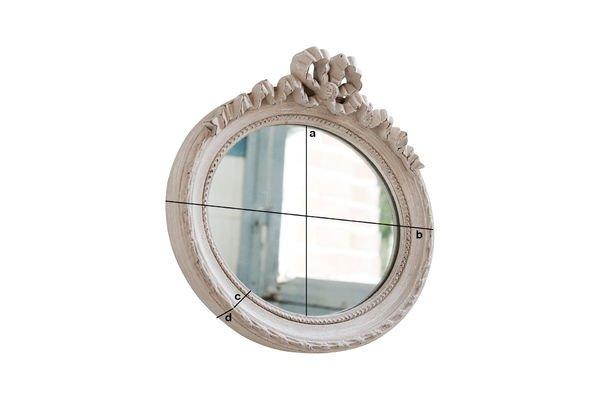 Dimensiones del producto Espejo Justine
