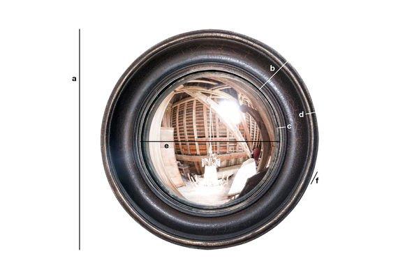 Dimensiones del producto Espejo Magellan