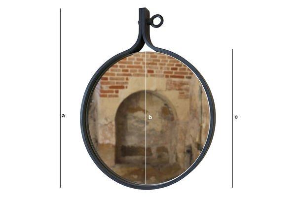 Dimensiones del producto Espejo Matka