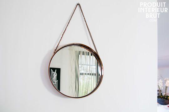 Espejo redondo Lena