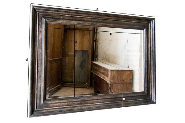 Dimensiones del producto Espejo Sigara