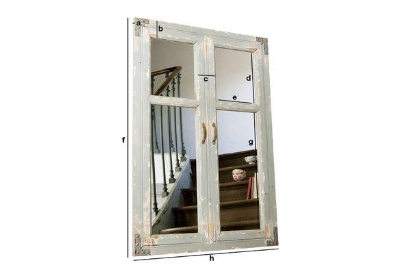 Dimensiones del producto Espejo Sweet Window