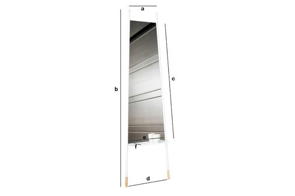Dimensiones del producto Espejo Trapisa