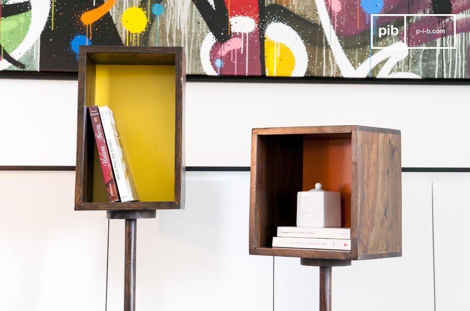 Combinación de colores para un práctico mueble