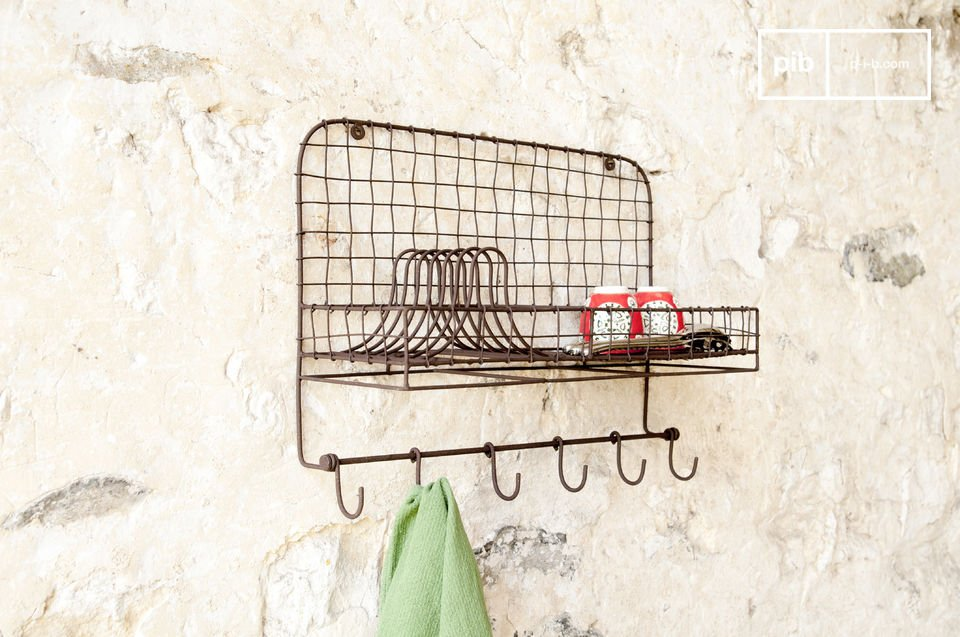 Un práctico accesorio de pared perfecto para la decoración de su cocina