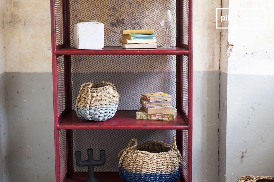 El estante Sedona es un sólido artículo de almacenamiento