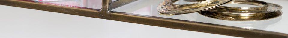 Descriptivo Materiales  Estantería de pared Collectionneur
