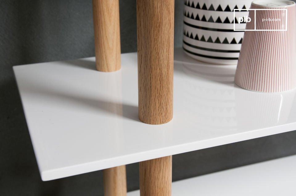 La estantería Tenno es un gran ejemplo del atractivo diseño de muebles escandinavos que traera la