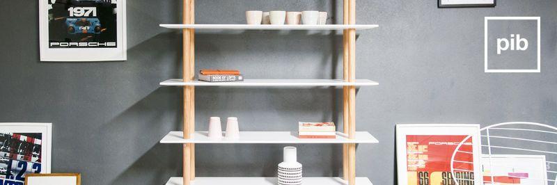 Estanterias de diseño nordico para libros