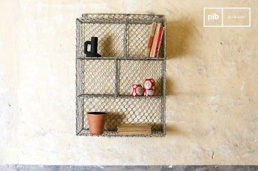 Estantes de pared con 5 compartimientos