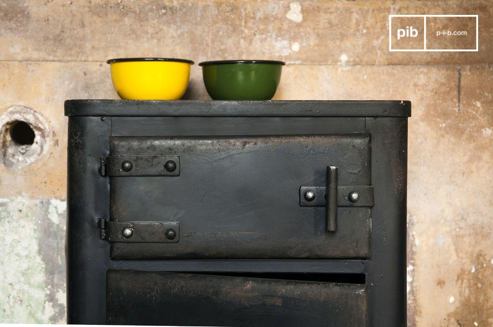 El gabinete Mox es una verdadera pieza de mobiliario industrial que le dejará impresionado