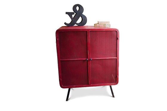 Gabinete rojo Minoterie Clipped