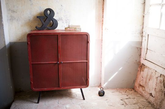 Gabinete rojo Minoterie