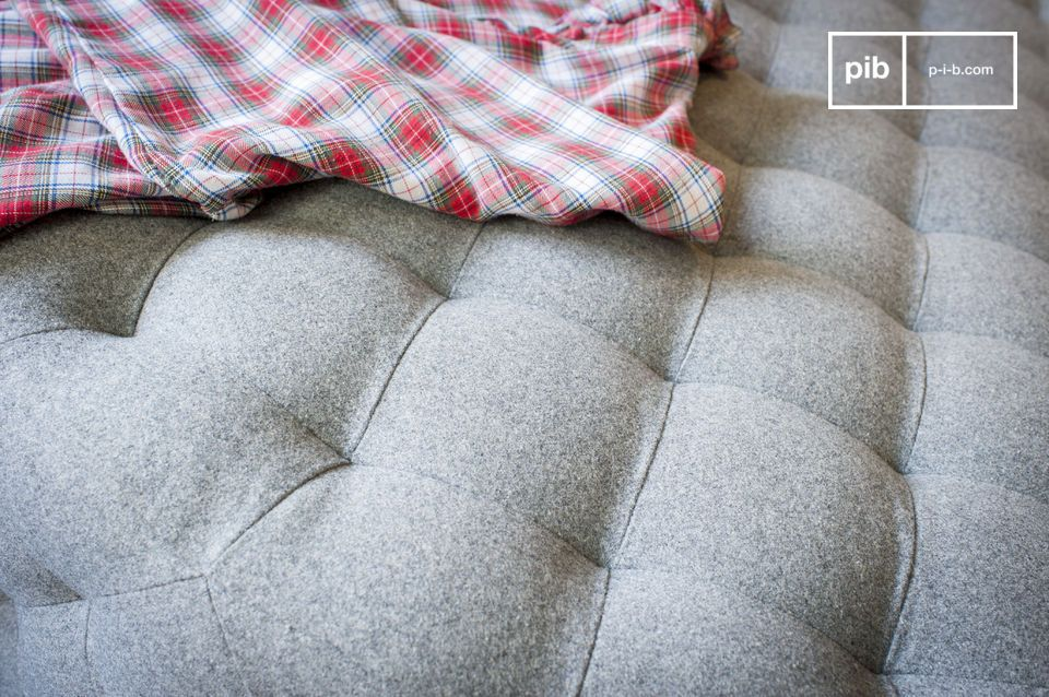 Diseño simple, Gran tamaño y Revestimiento de lana