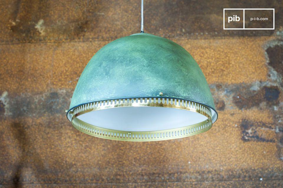Una lámpara de suspensión neoindustrial de innegable originalidad
