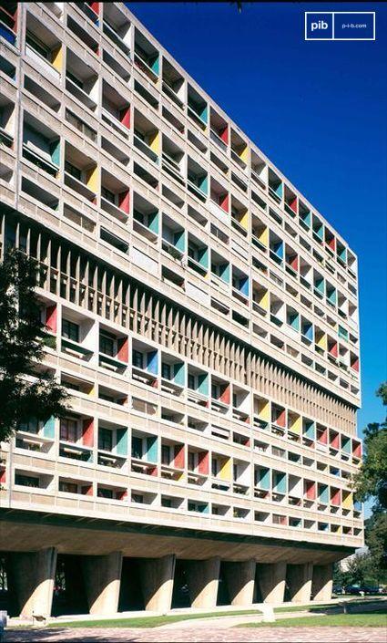 Inicio del Estilo Internacional - L'Unité d'habitation en Marsella