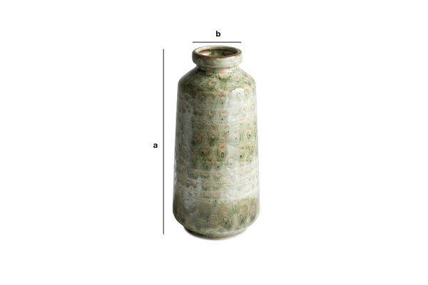 Dimensiones del producto Jarrón de cerámica Eva