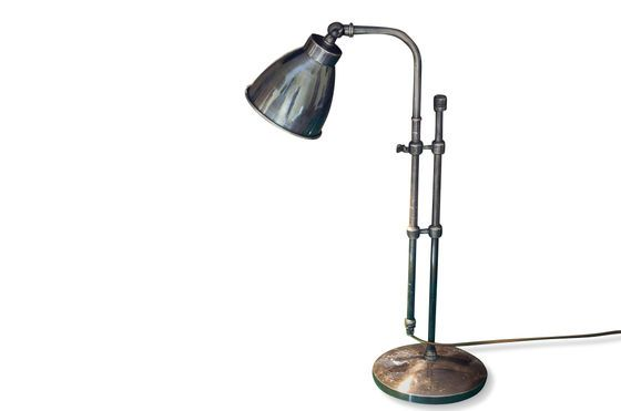 Lámpara ajustable plateada Clipped