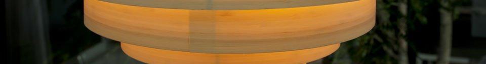 Descriptivo Materiales  Lámpara Boreal