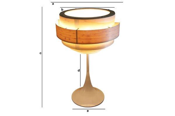 Dimensiones del producto Lámpara Boreal
