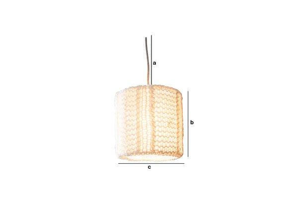 Dimensiones del producto Lámpara colgante Agüela