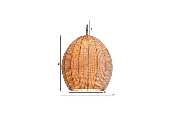 Dimensiones del producto Lámpara colgante Astemik